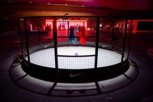 Панна 1900 на мероприятии Nike